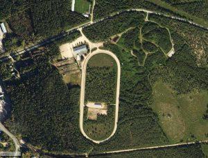 Flygbild över NURKs område
